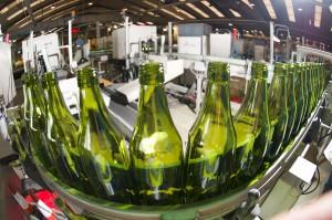 Fábrica de botellas de vidrio