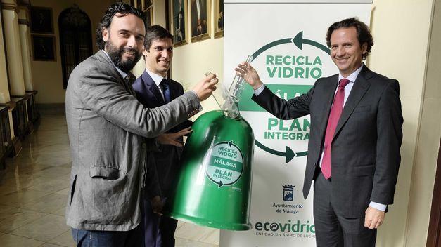 Plan Integral Malaga Recicla Vidrio