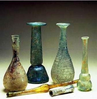 Origen del vidrio fabricado