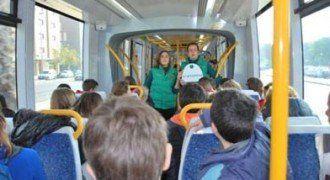 El tranvía del vidrio, en Murcia.