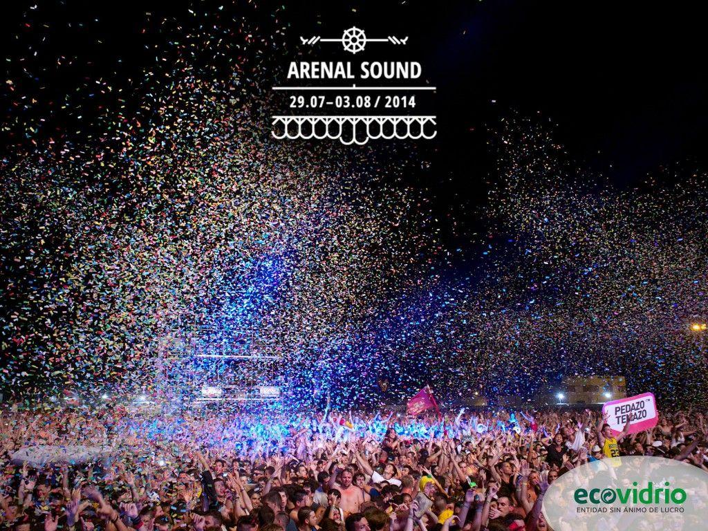 Arenal Sound y Ecovidrio