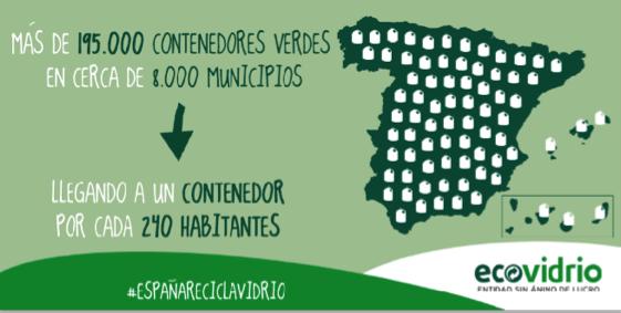_un contenedor verde por cada 290 habitantes