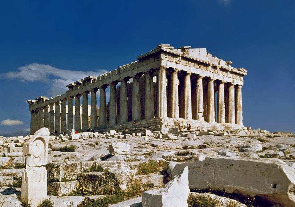 Partenon Atenas gestion residuos urbanos