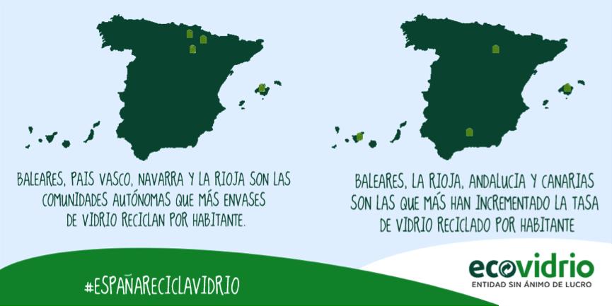 comunidades reciclaje vidrio 2014