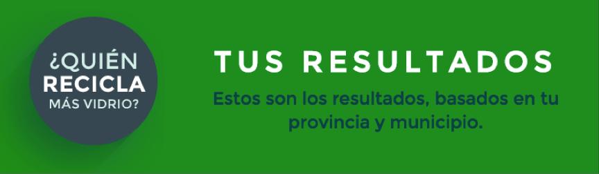 resultados locales reciclado vidrio 2014