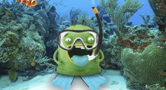 Mr Iglu buceando verano