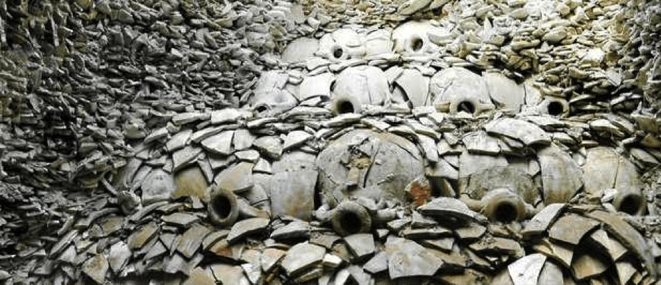 restos anforas romanas