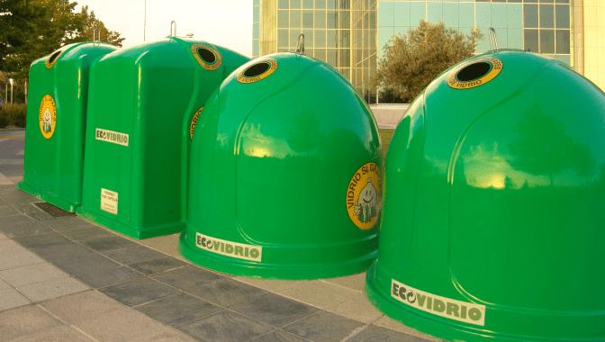 Contenedores ecovidrio