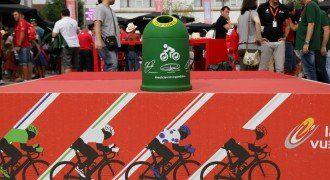 La Vuelta a España recicla vidrio