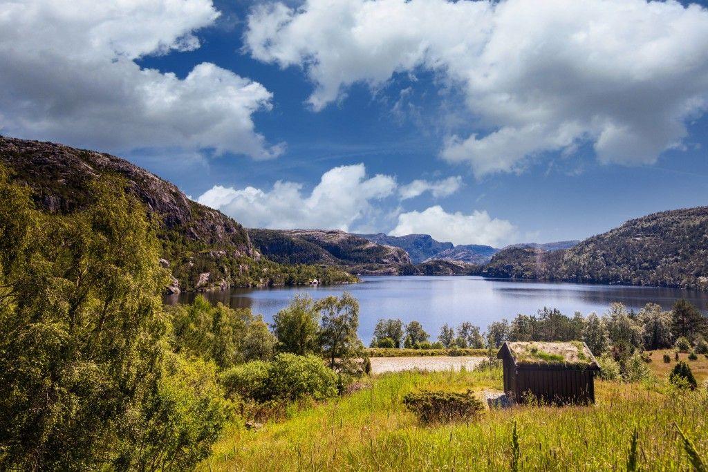 Noruega espacio natural ecovidrio