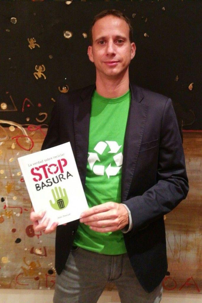 STOP Basuras. Libro de Alex Pascual. Entrevista en ecovidrio