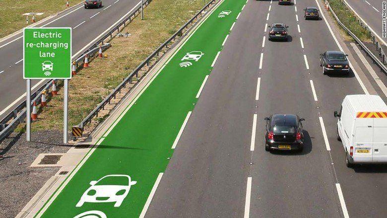 ecoinventos: carreteras cargan coches electricos