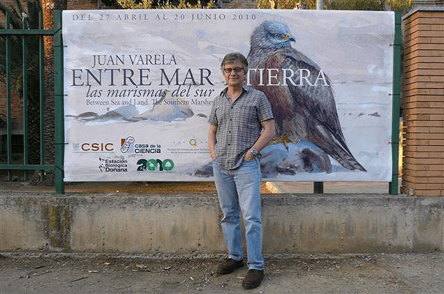 """Exposición """"Entre mar y tierra"""" en 2010"""