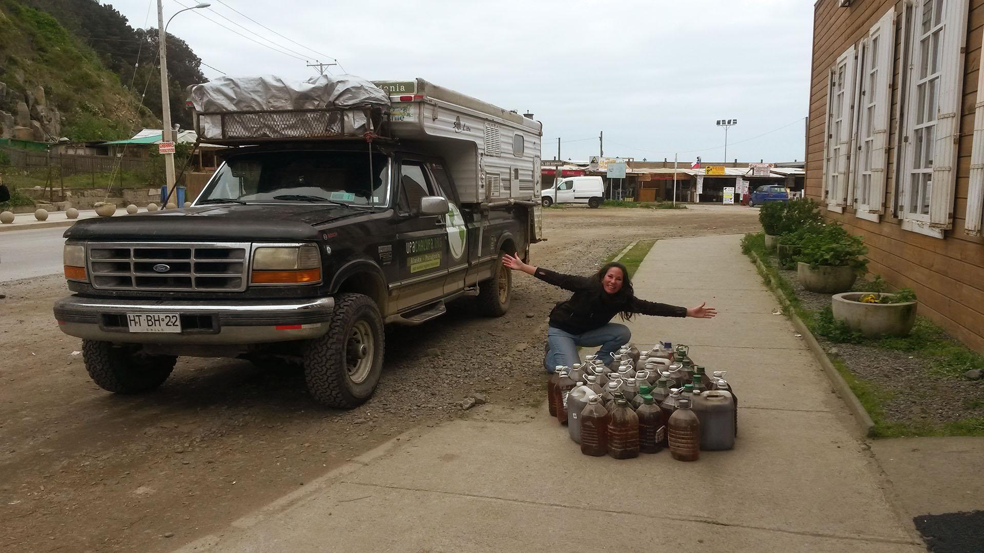 Upa Chalupa aceite reciclado