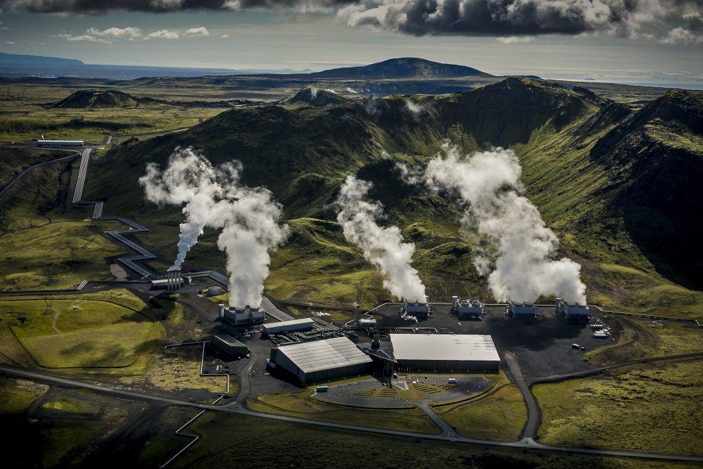 Planta geotérmica de Hellisheidi, Islandia