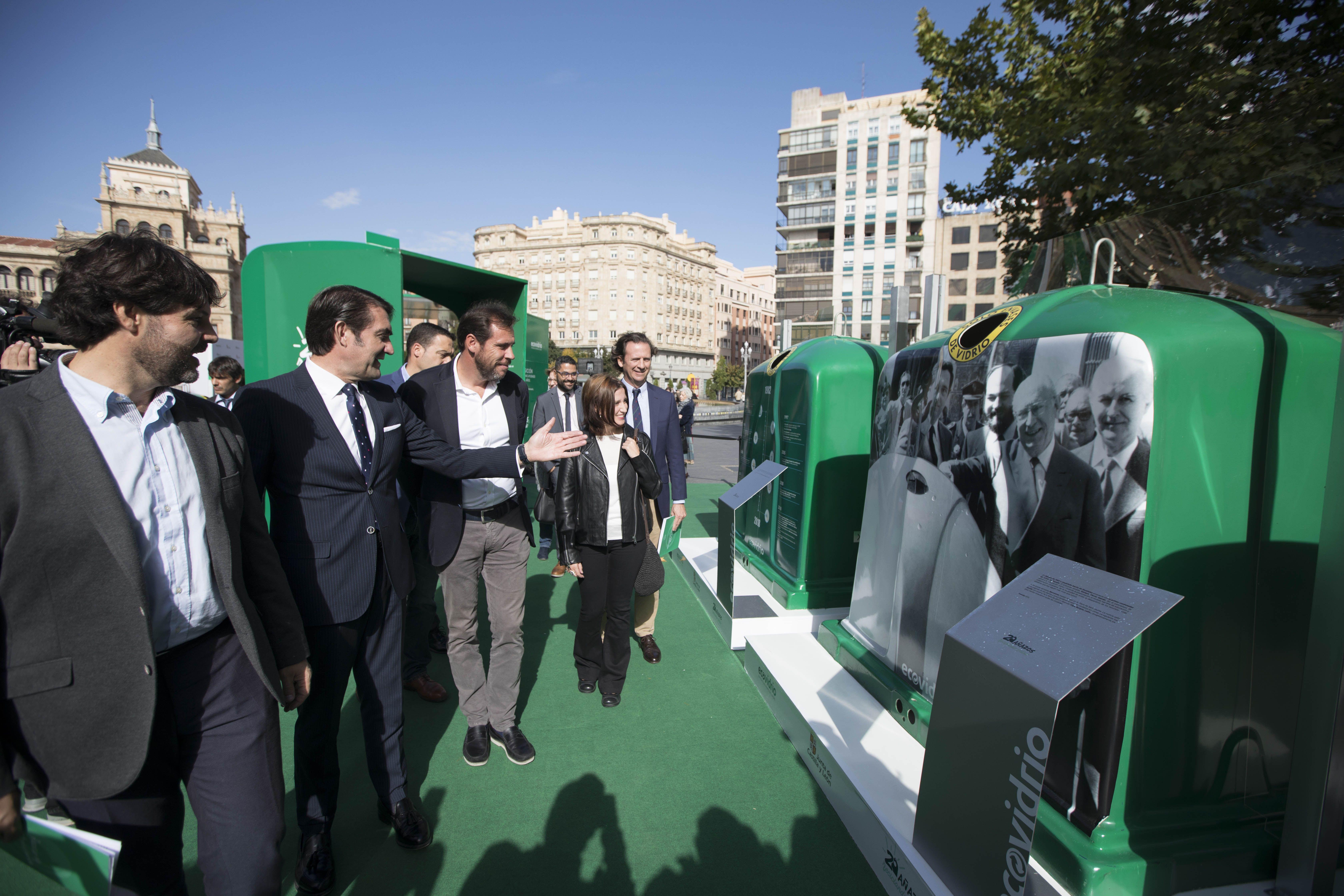 contenedor-verde-de-reciclaje-castilla-y-leon-ECOVIDRIO