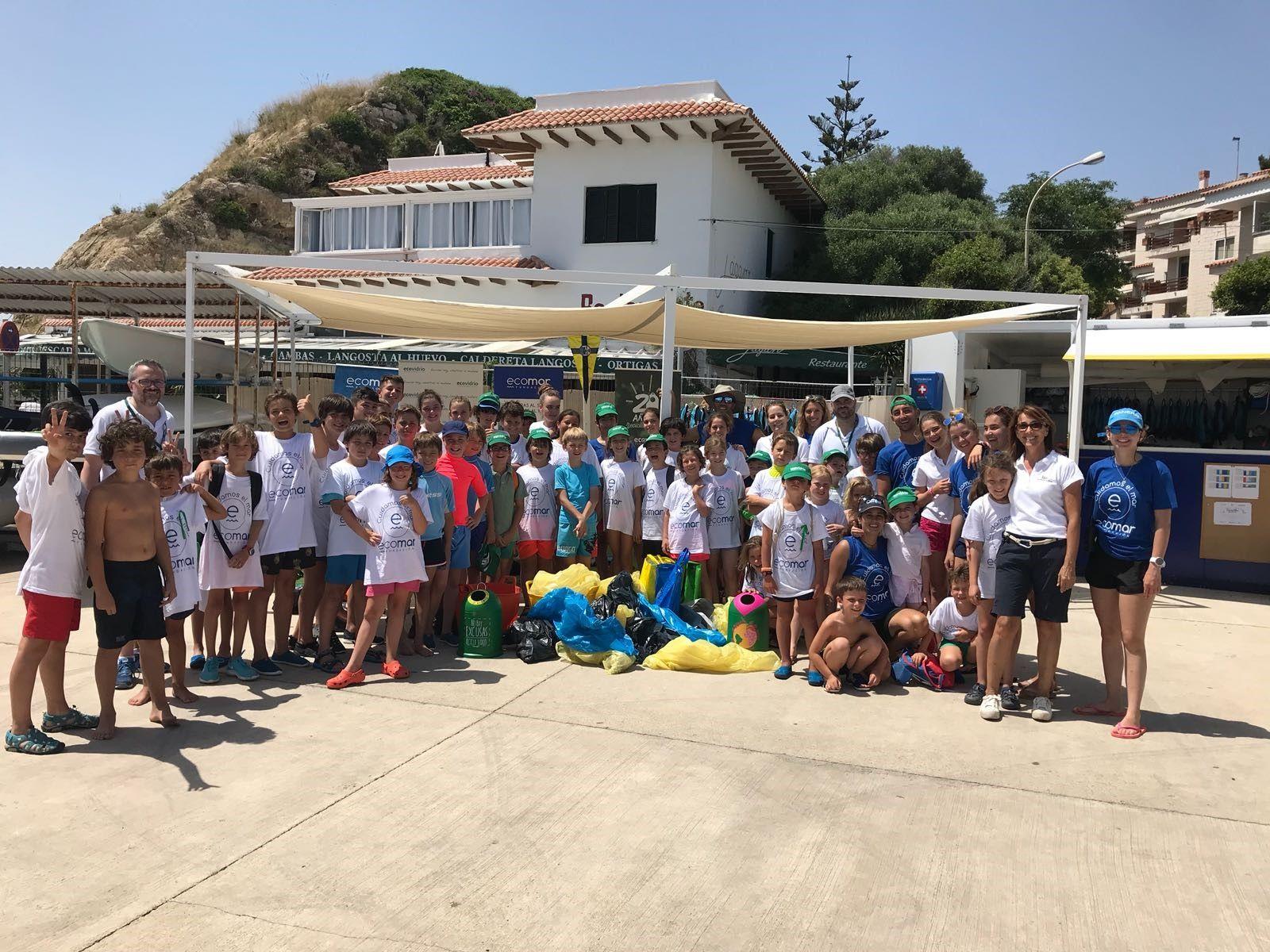 Campaña Ecovidrio con niños - Mallorca