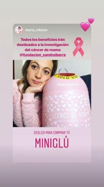 María Villalón campaña social recicla vidrio