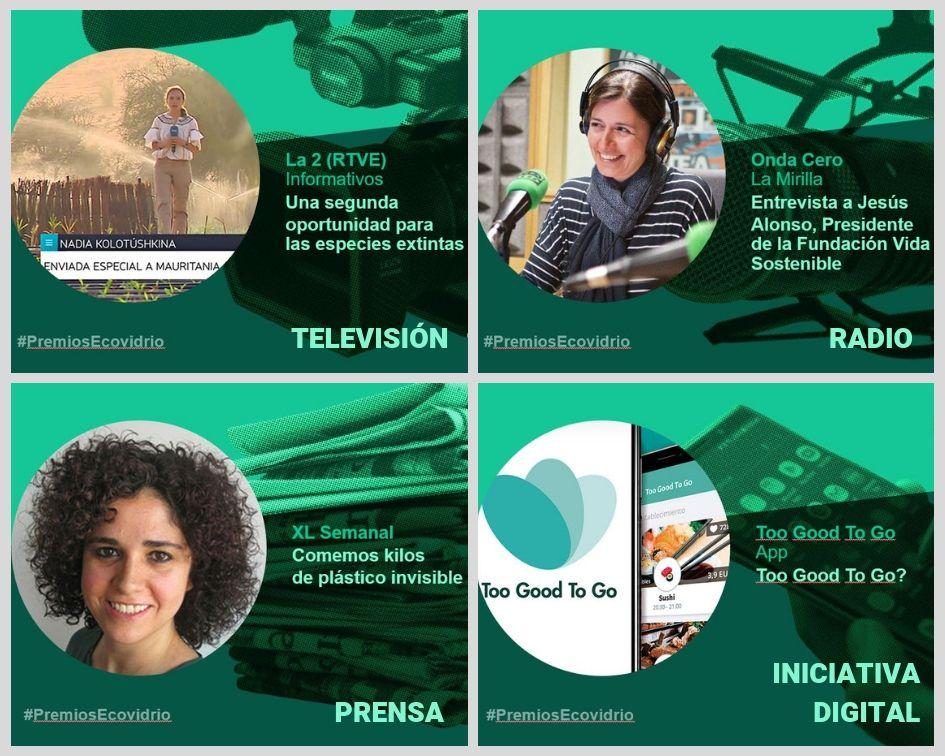 premio periodismo - categorías