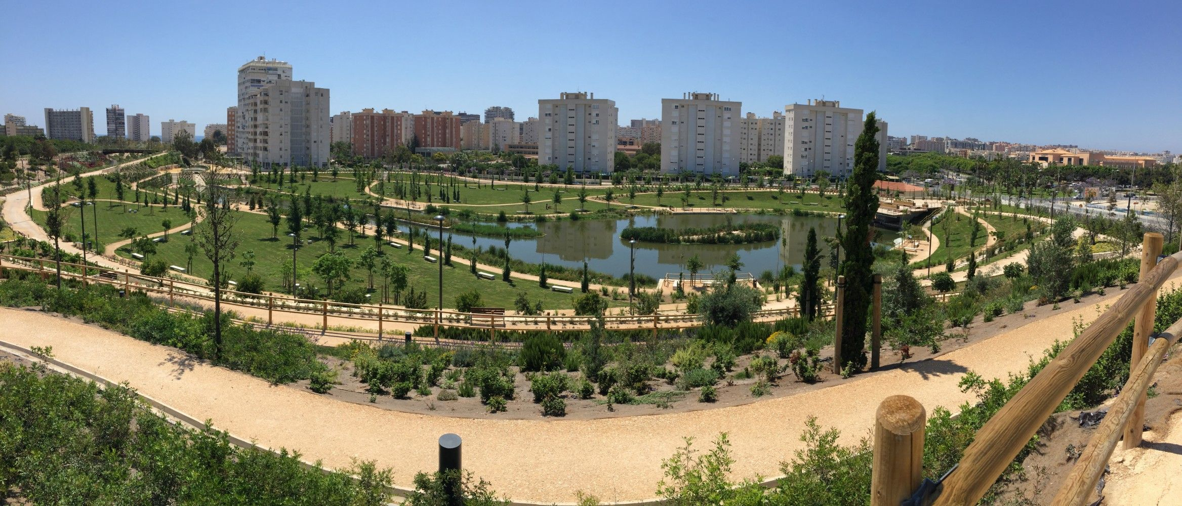 Panorámica parque Marjal