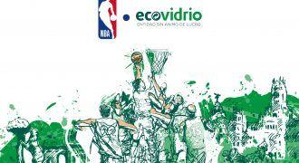 Baloncesto ecológico - campaña NBA y Ecovidrio