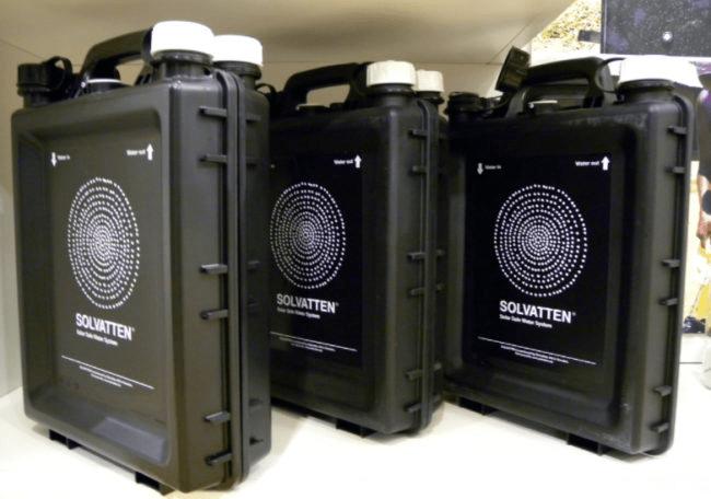 solvatten - potabilizador de agua