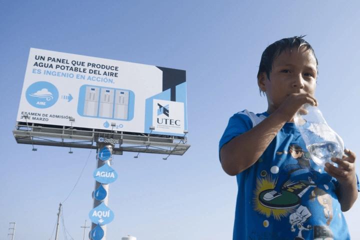 ecoinventos de agua -valla publicitaria