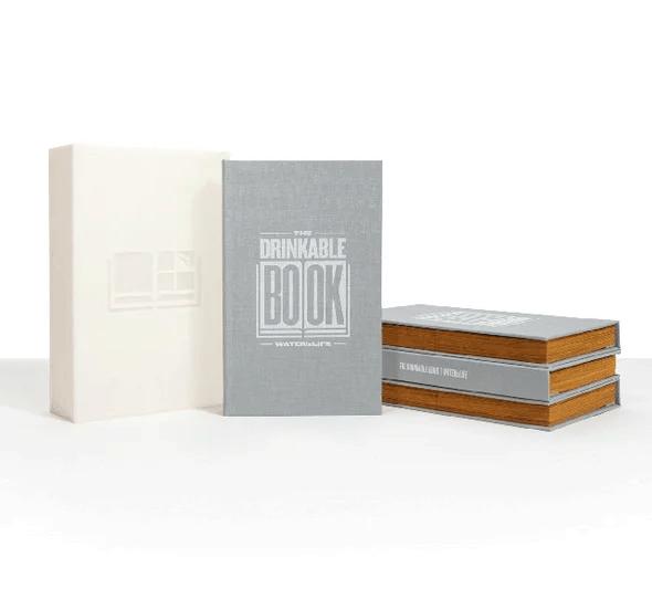 ecoinventos agua - libro que se bebe