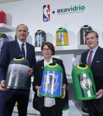 baloncesto ecologico - representantes NBA y Ecovidrio