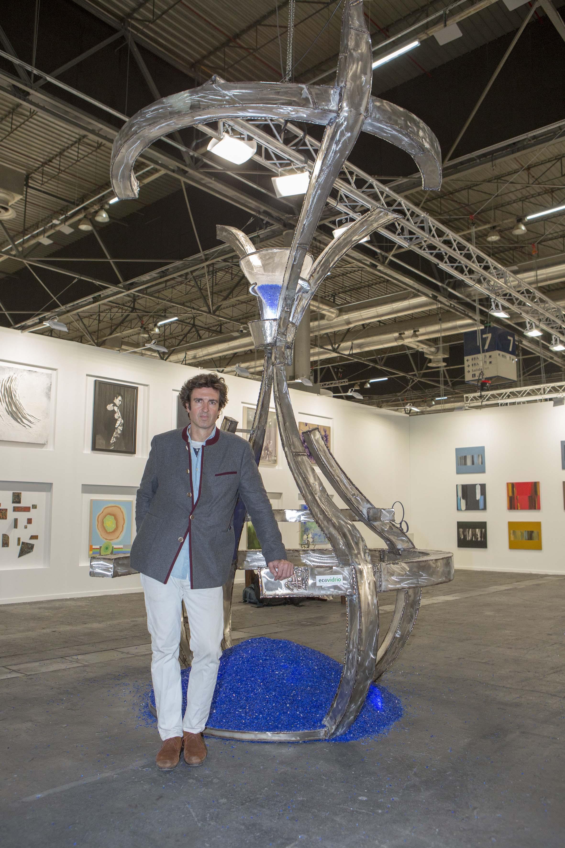 "Juan Garaizabal con ""La memoria del vidrio"" en ARCO 2019"