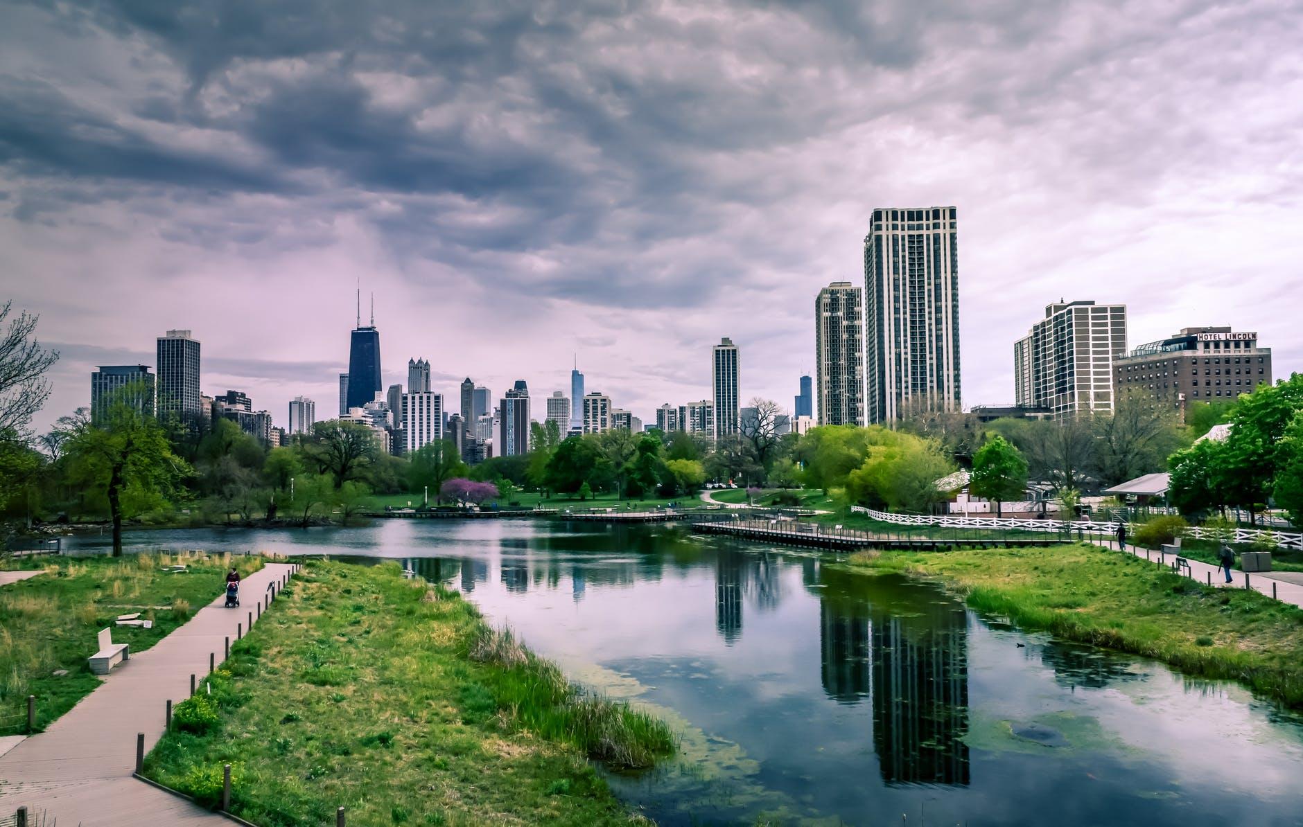 ciudades verdes , chicago