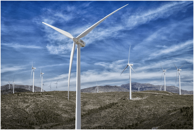 Parque eólico - energias limpias y renovables