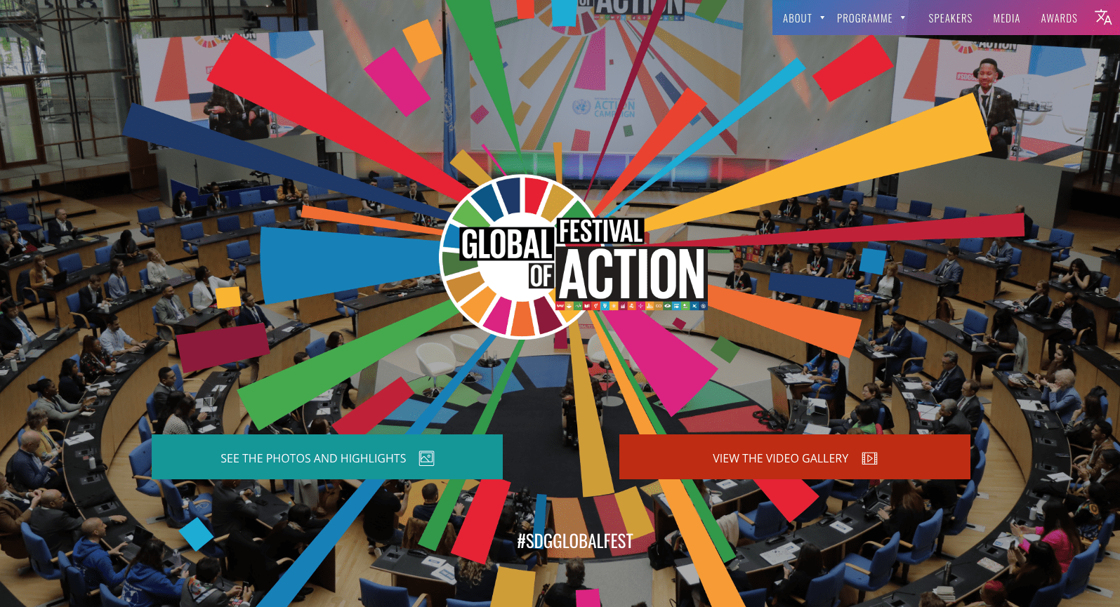 Global festival of actions