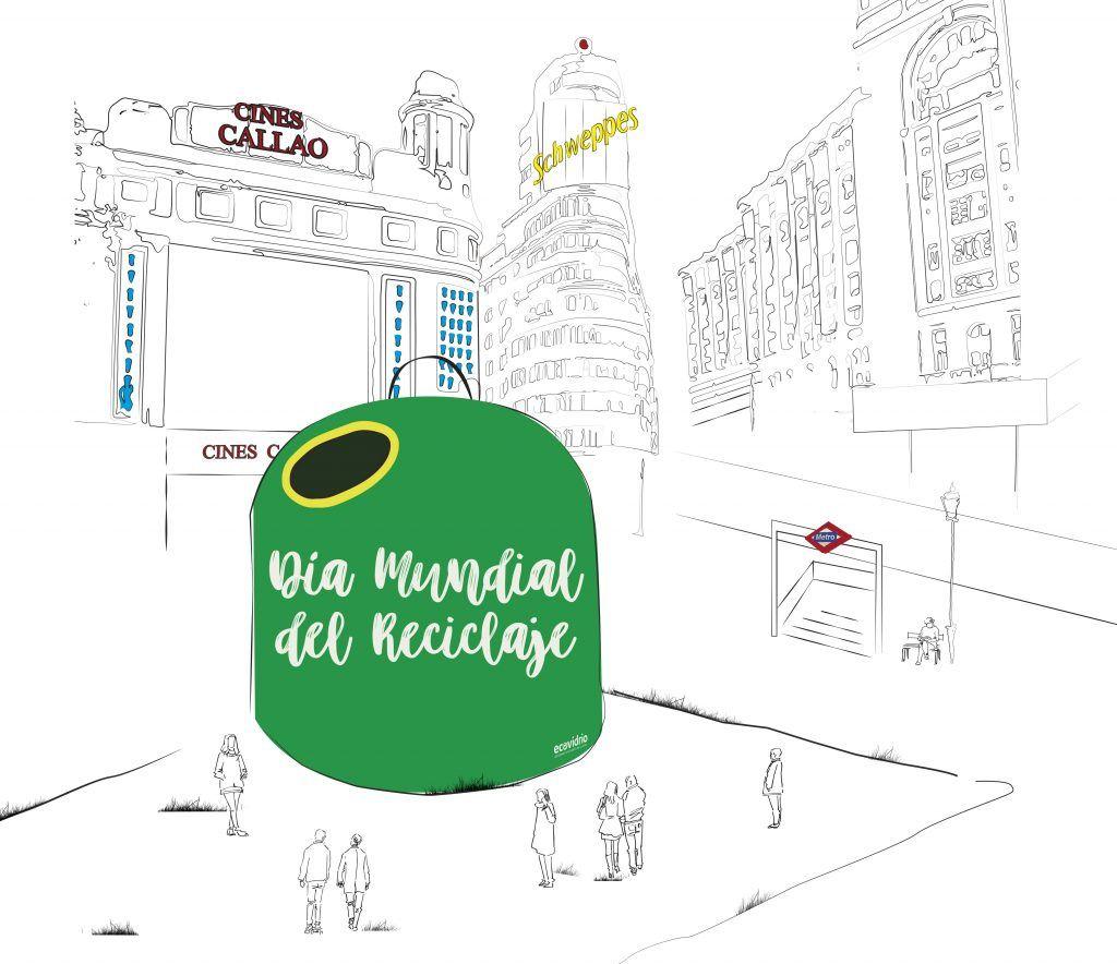 Día-mundial-del-reciclaje-ECOVIDRIO-ilustracion