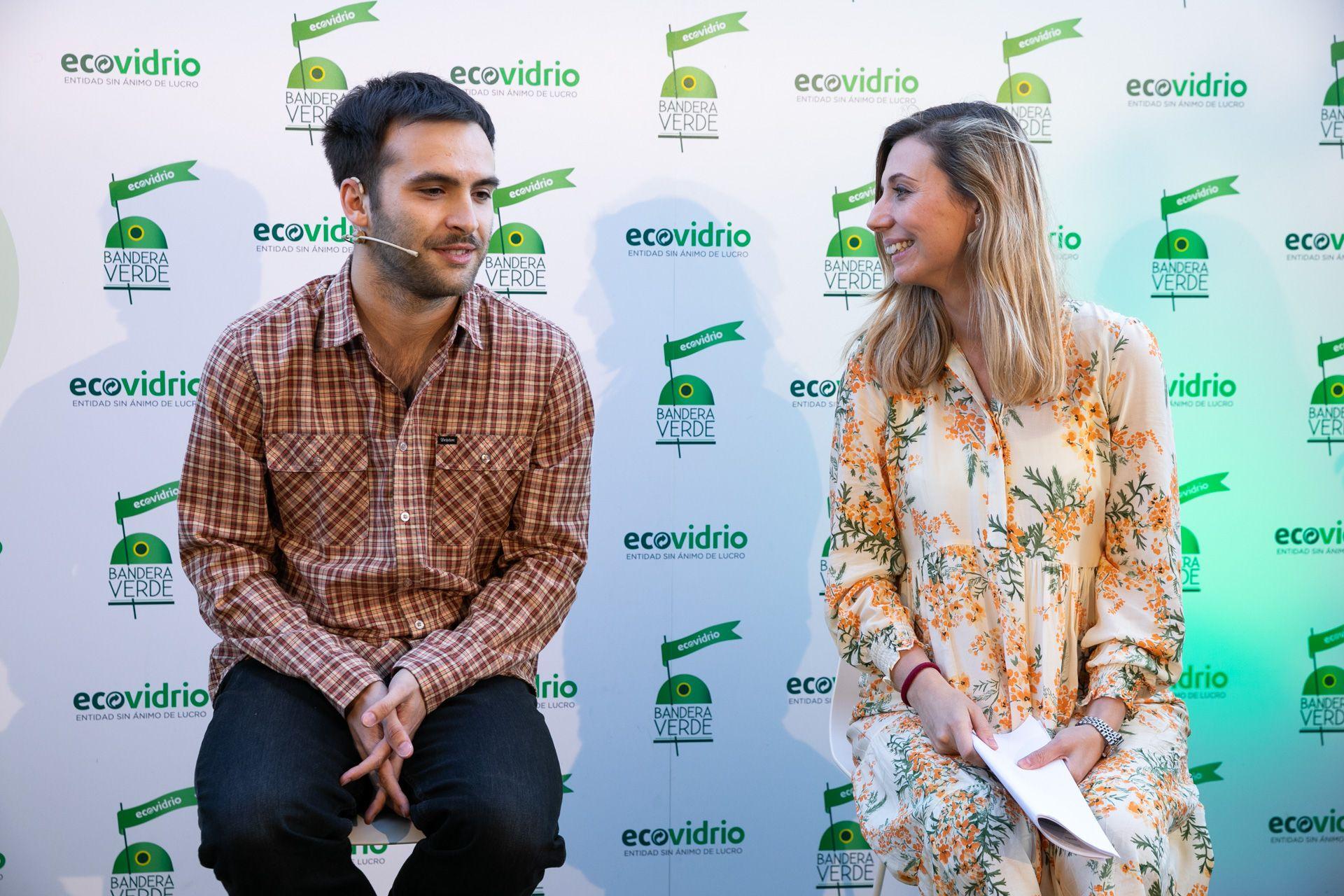 campaña de reciclaje - ricardo y beatriz de ecovidrio