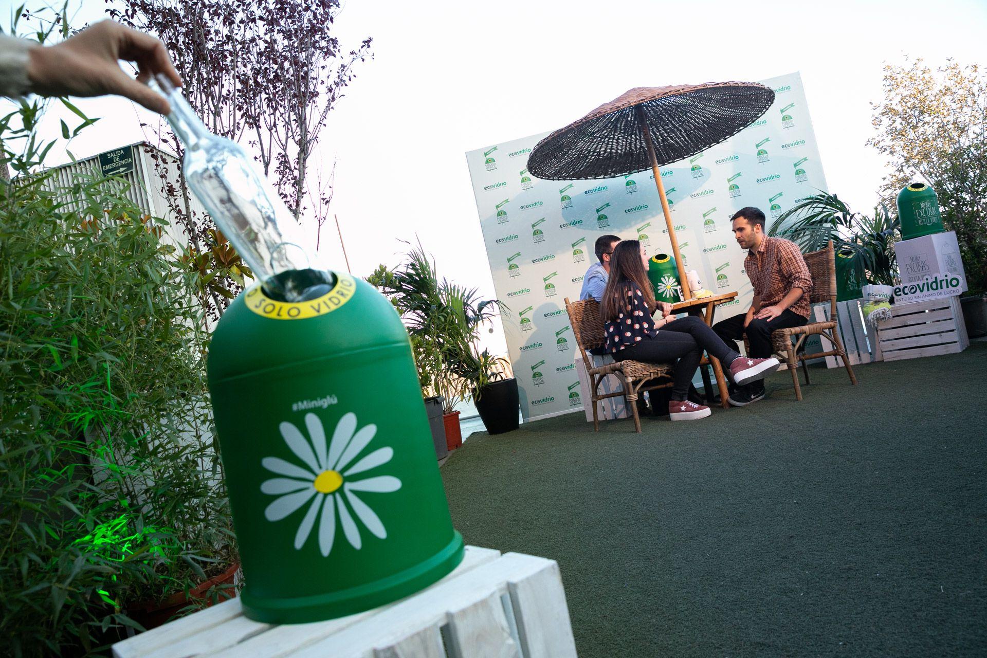 campaña de reciclaje con ricardo gomez