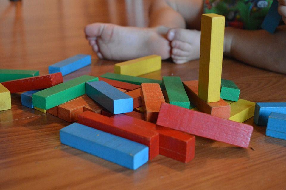 juguetes ecológicos - apilable bebé