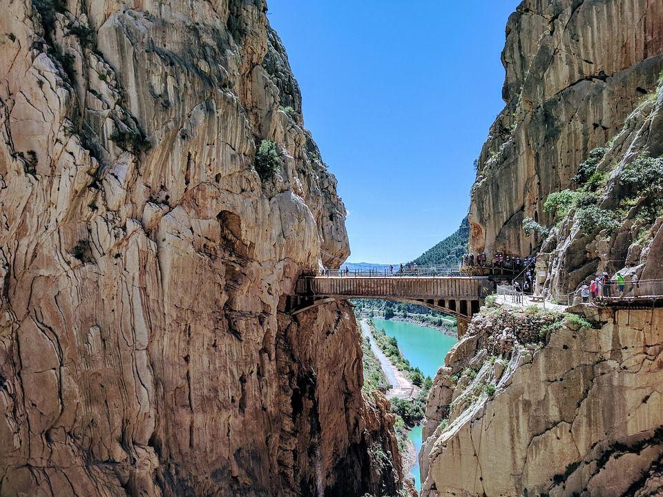 caminito del rey - mejores rutas de senderismo españa