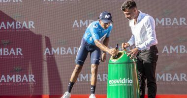 campaña recicla vidrio y pedalea 2019