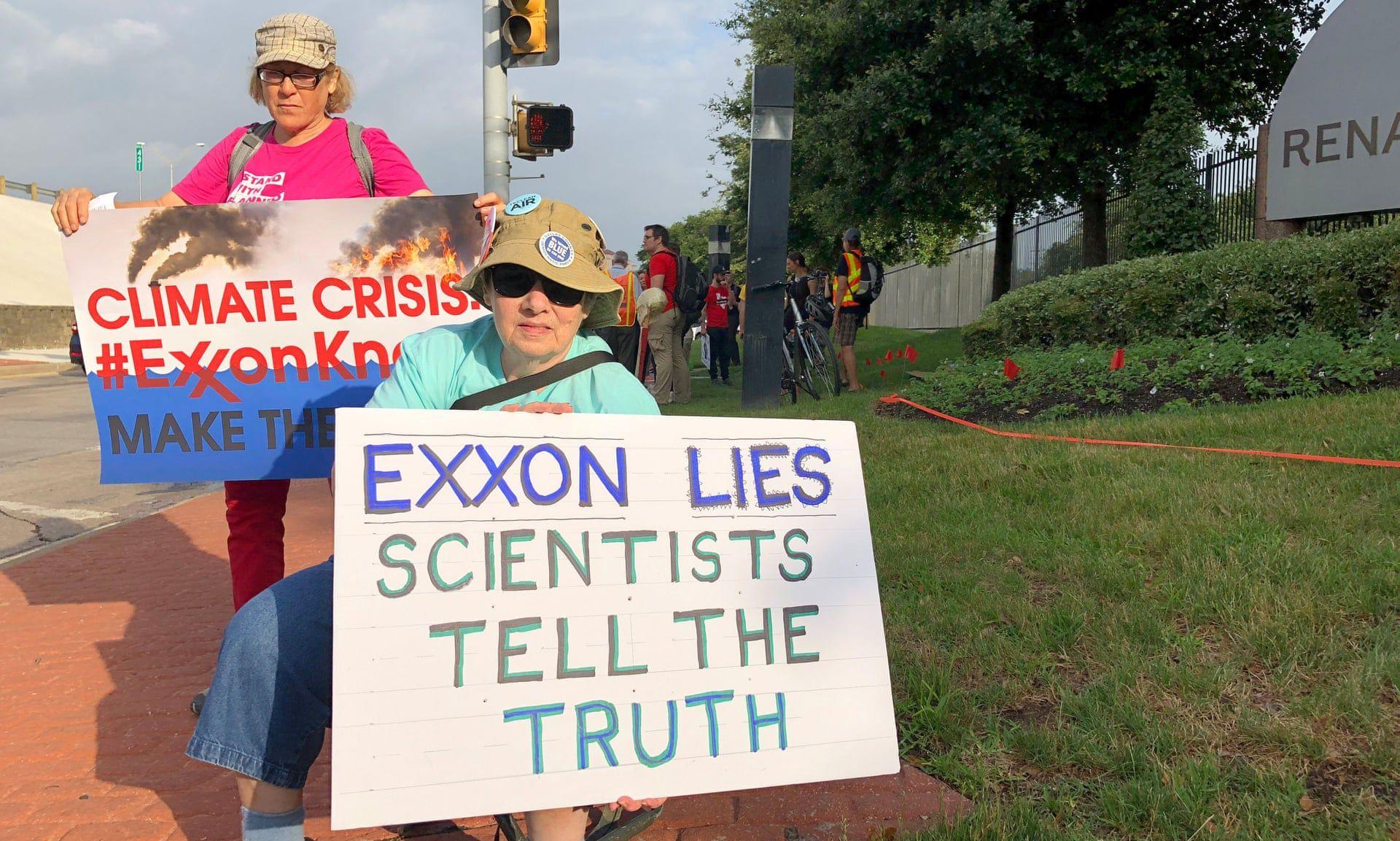 frases sobre cambio climatico - exxon
