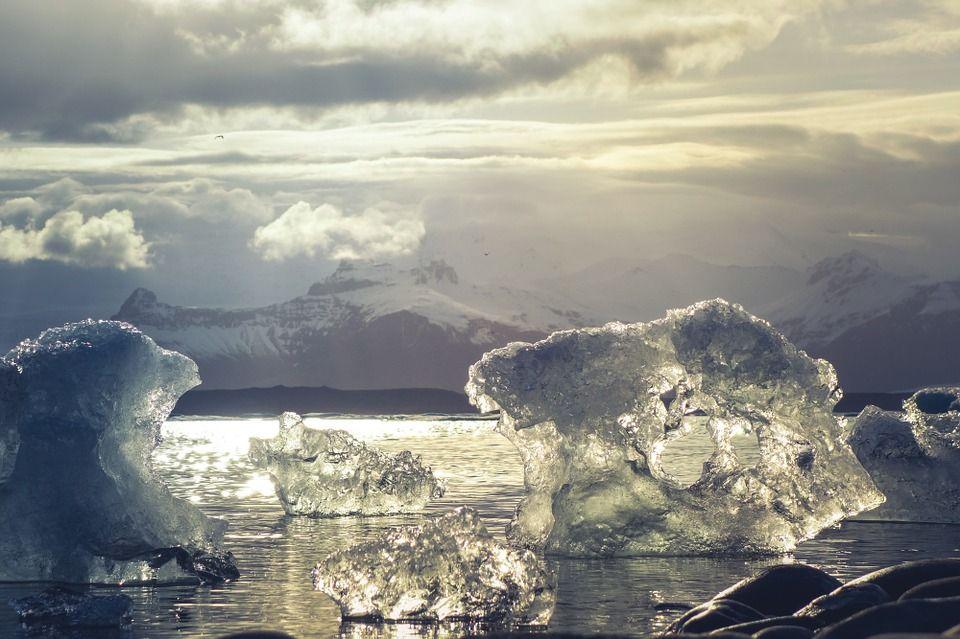subida del nivel del mar - antartida