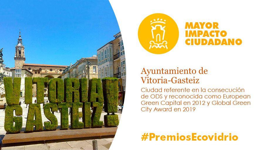 premios ecovidrio - mayor impacto ciudadano
