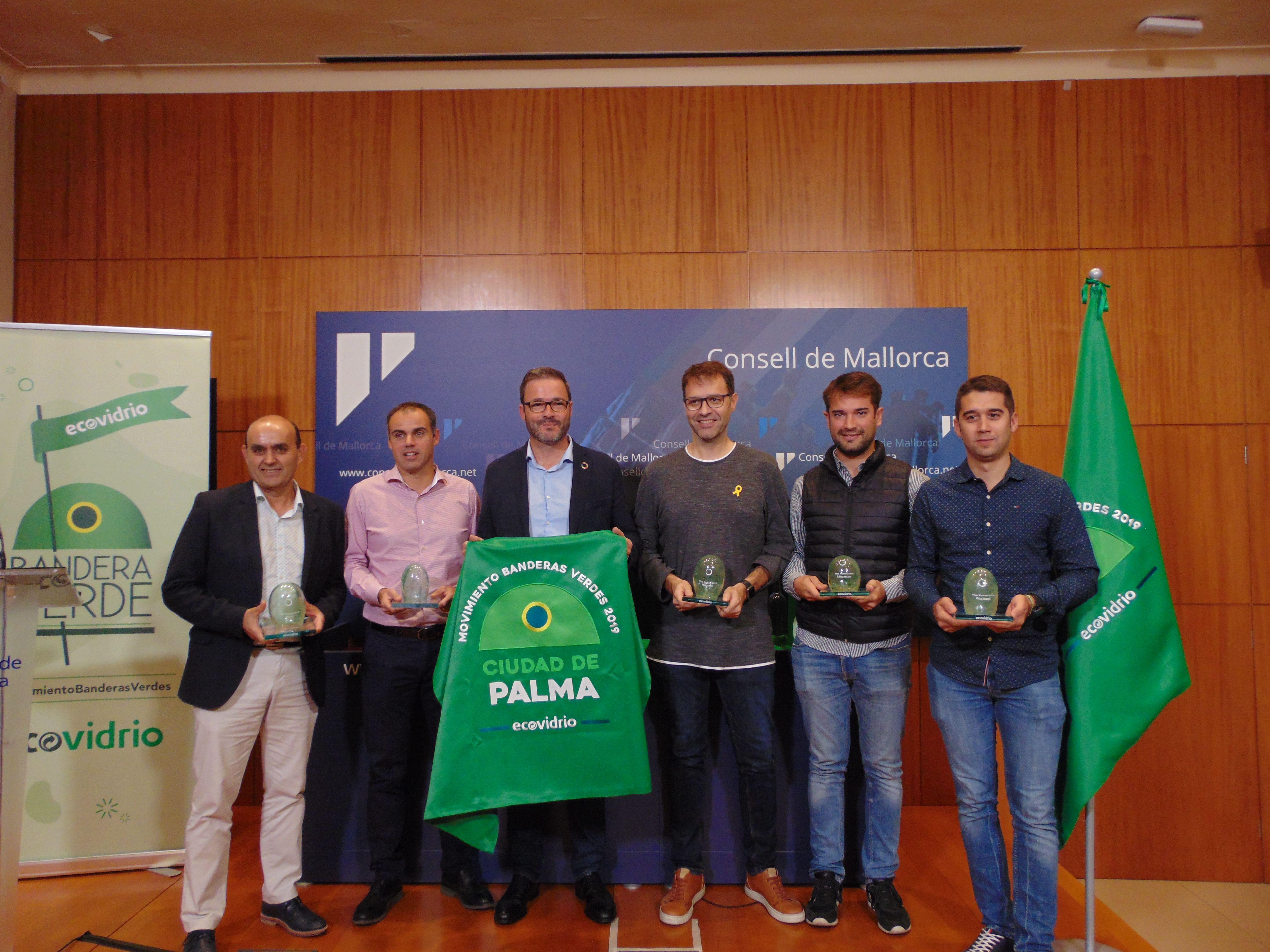 entrega bandera verde en Palma