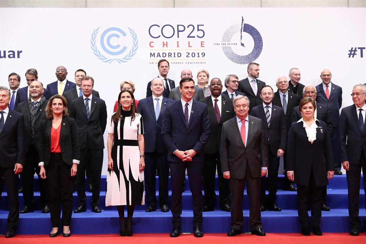 COP 25 - inauguración