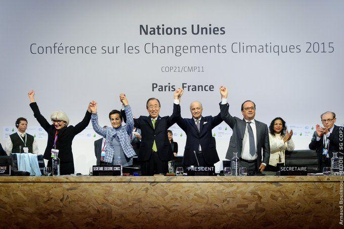 estado de emergencia climatica Acuerdo de París
