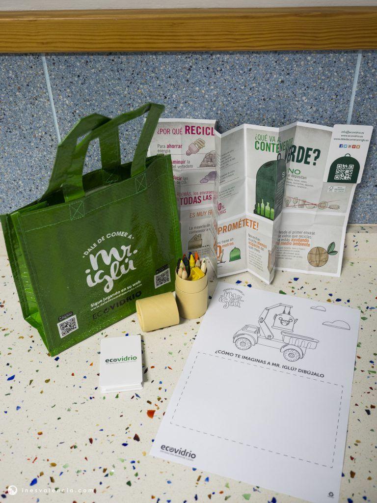 Ecovidrio y Raíces & Brotes unen fuerzas a través de talleres ambientales para llevar el reciclaje a las aulas de Tenerife - 4