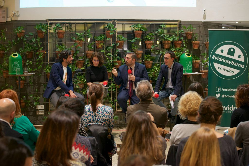 vidrios y barras - green deal ecovidrio