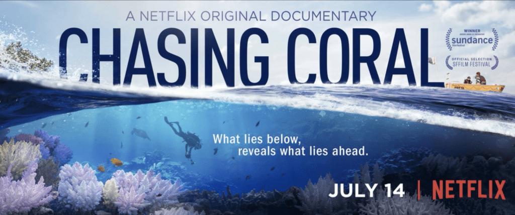 chasing coral o en busca del cora es uno de los documentales sobre animales marinos mas interesntes