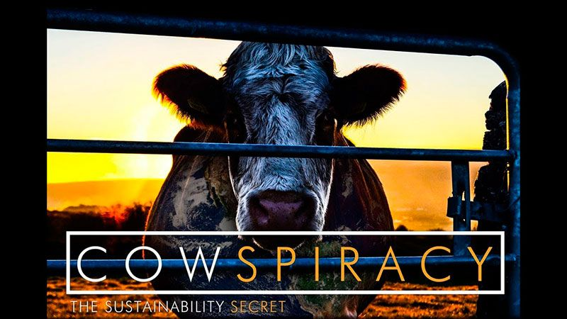 cartel de cowspiracy serie en Netflix