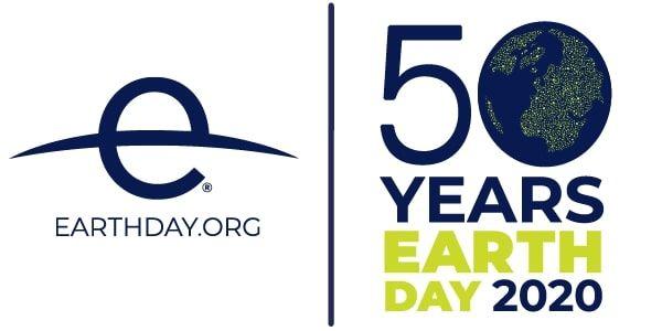logo 50 años día de la tierra 2020